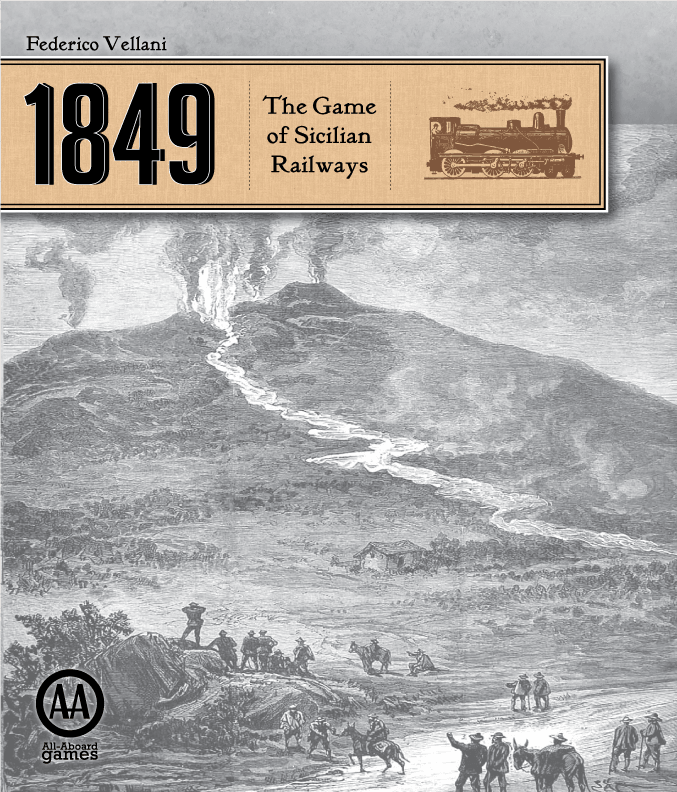 Main image for 1849: The Game of Sicilian Railways board game
