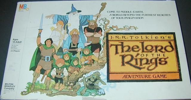 The Lord of the Rings Adventure Game