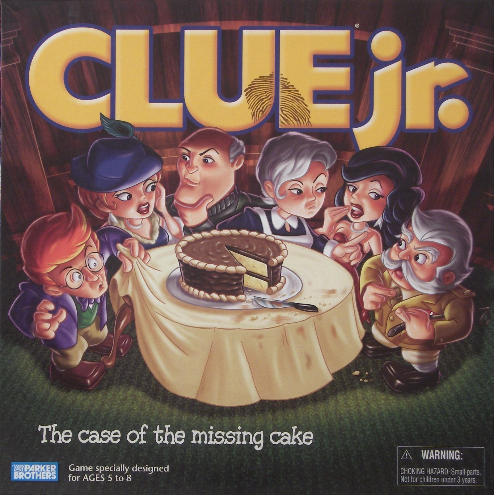 Clue Jr.: The Case of the Missing Cake
