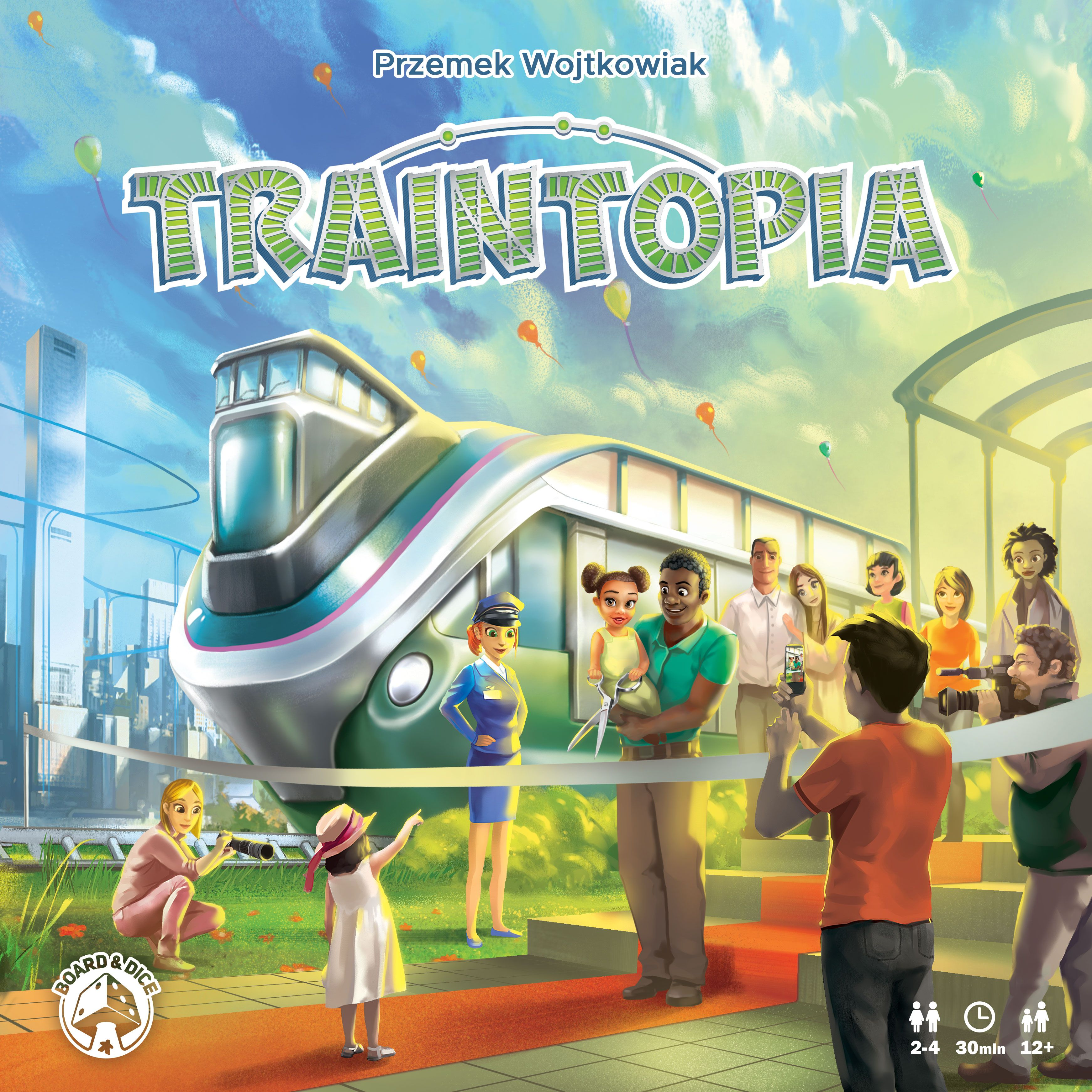 Traintopia - Portada