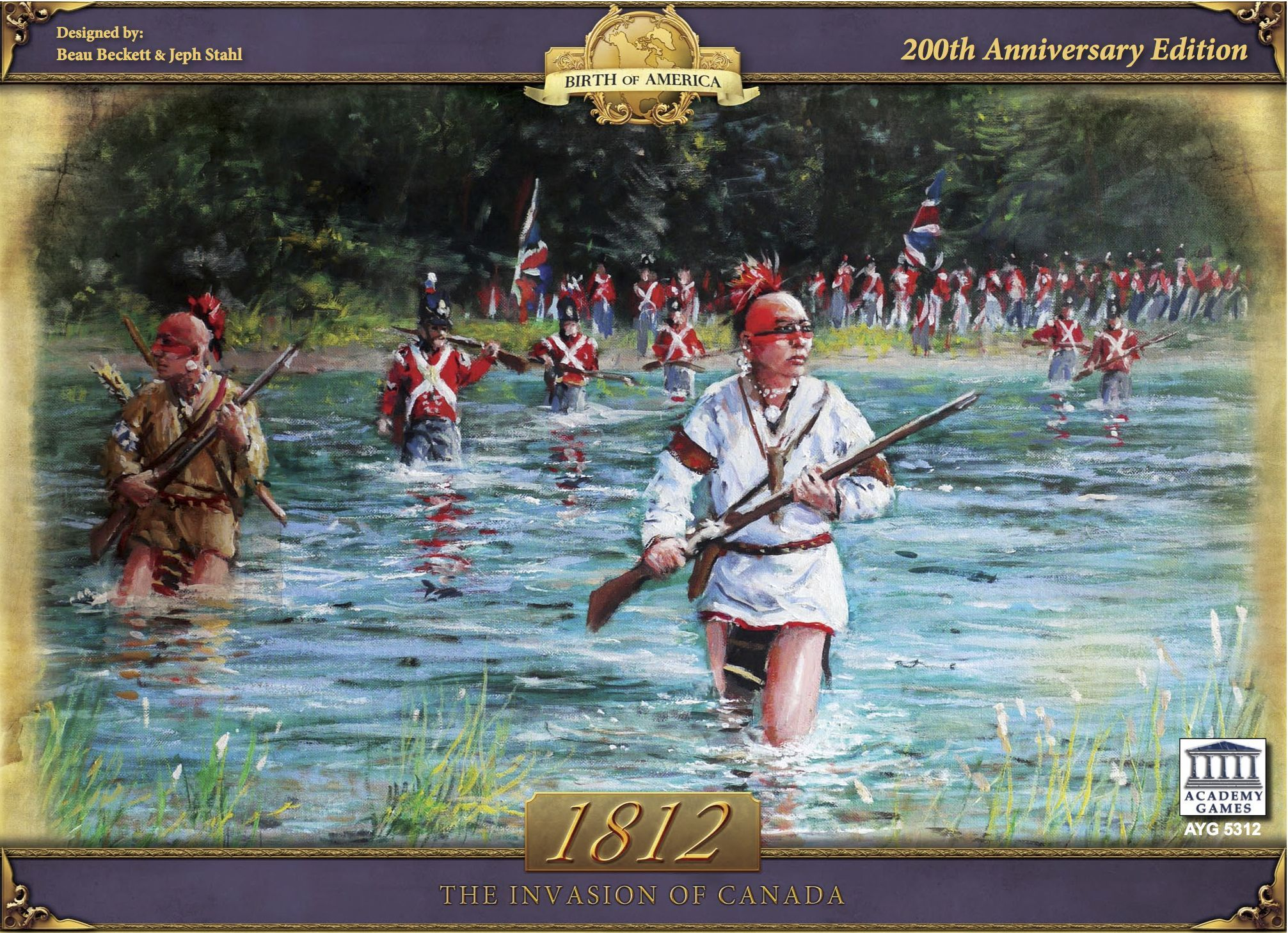 Main image for 1812: The Invasion of Canada board game