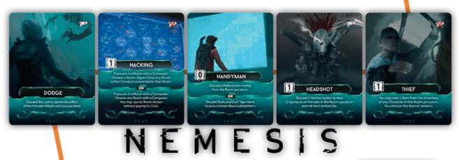 Nemesis: Man V Meeple Season 3 Feat Promo Cards