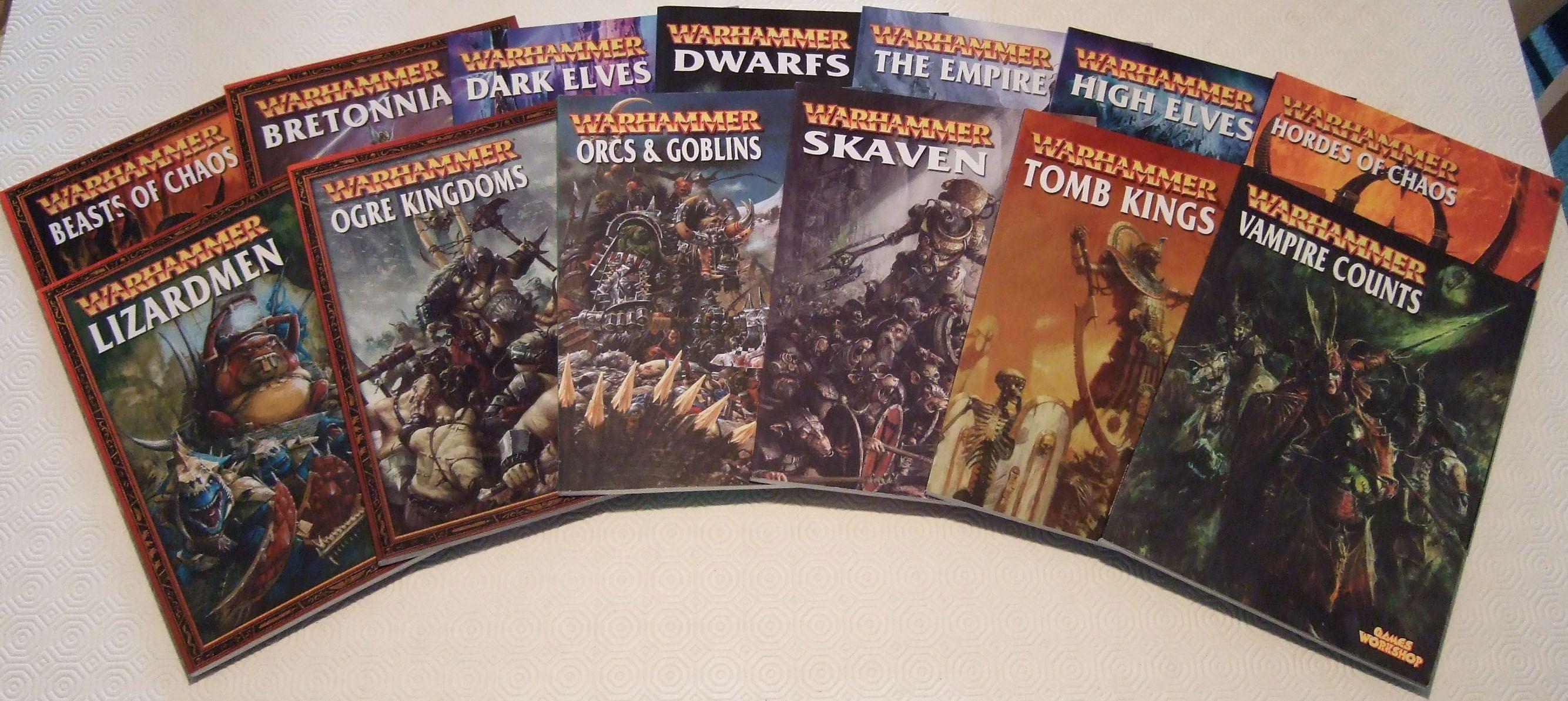 Warhammer Armies: Army Books