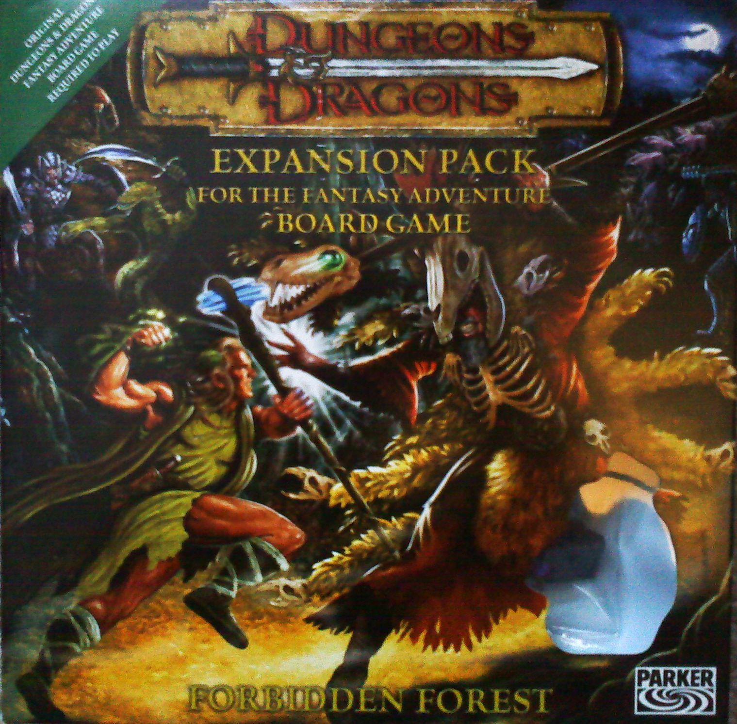 Dungeons & Dragons: The Fantasy Adventure Board Game – Forbidden Forest Expansion Pack