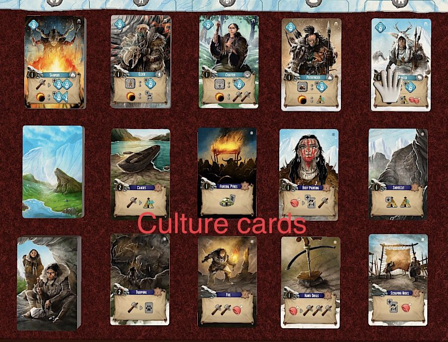 Cartes Culture du prototype TTS