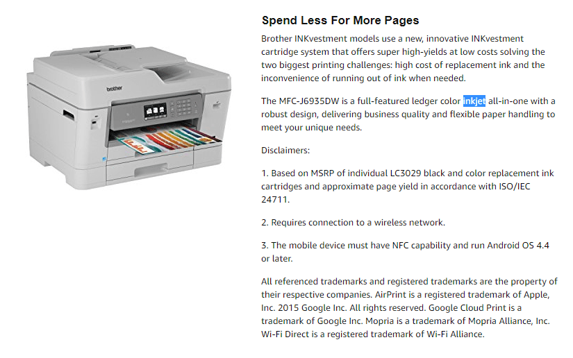 Printer died, need a new color printer that will feed card