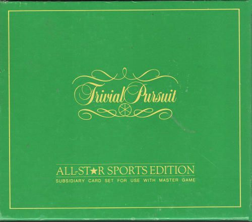 Trivial Pursuit: All Star Sports Edition