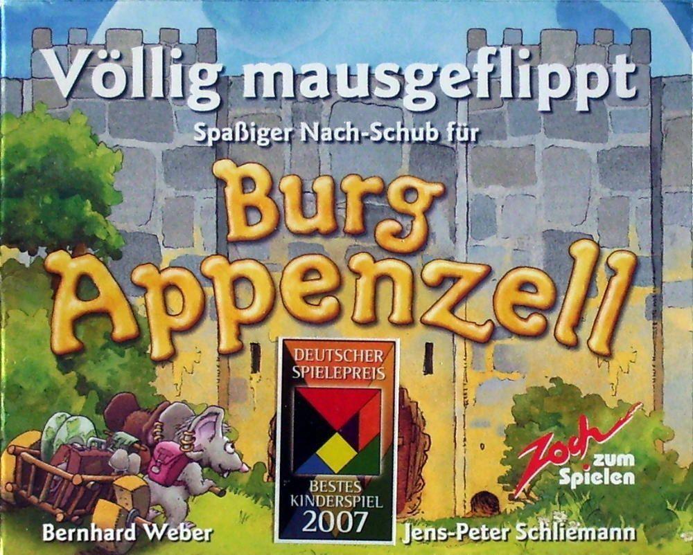 Burg Appenzell Erweiterung: Völlig mausgeflippt
