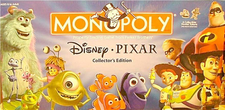 Monopoly: Disney/Pixar