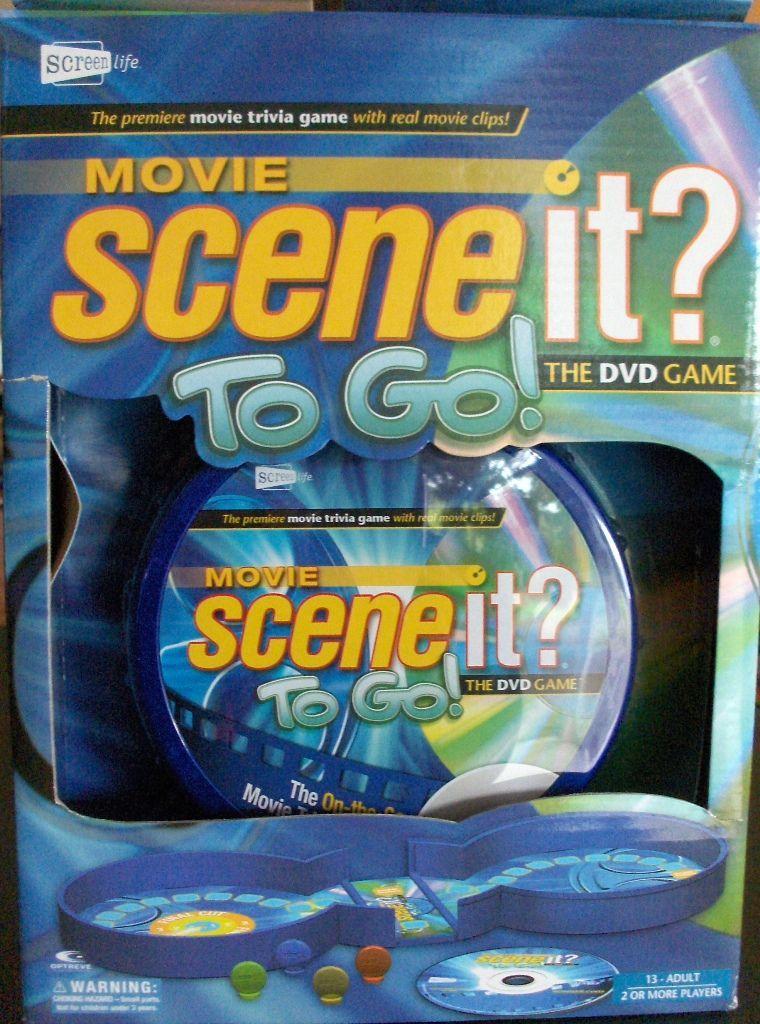 Scene It? To Go!: Movie