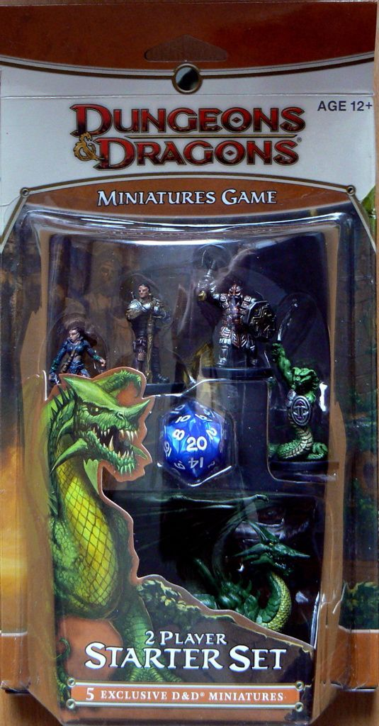 Dungeons & Dragons Miniatures Game (second edition)