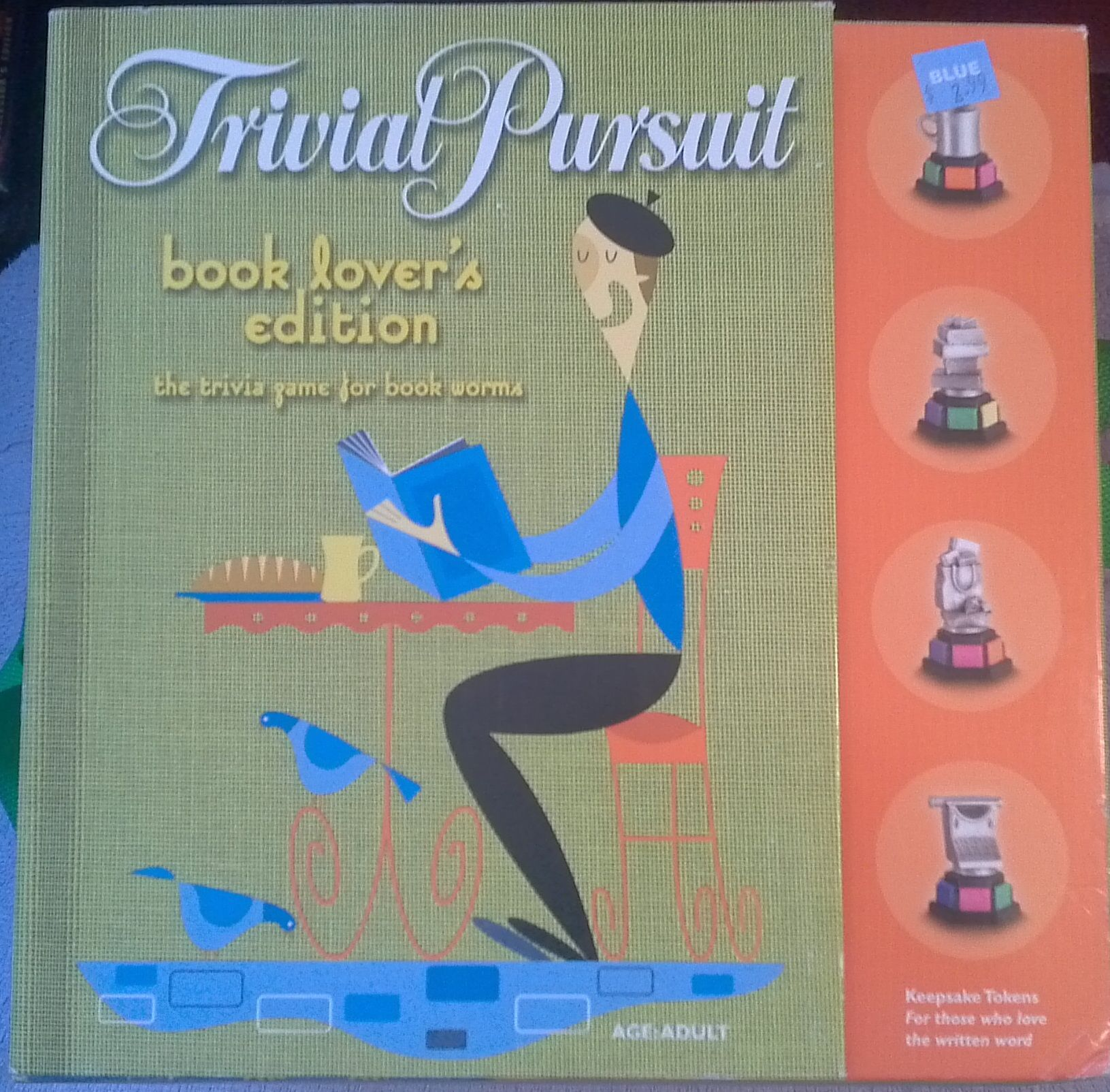 Trivial Pursuit: Book Lover's Edition