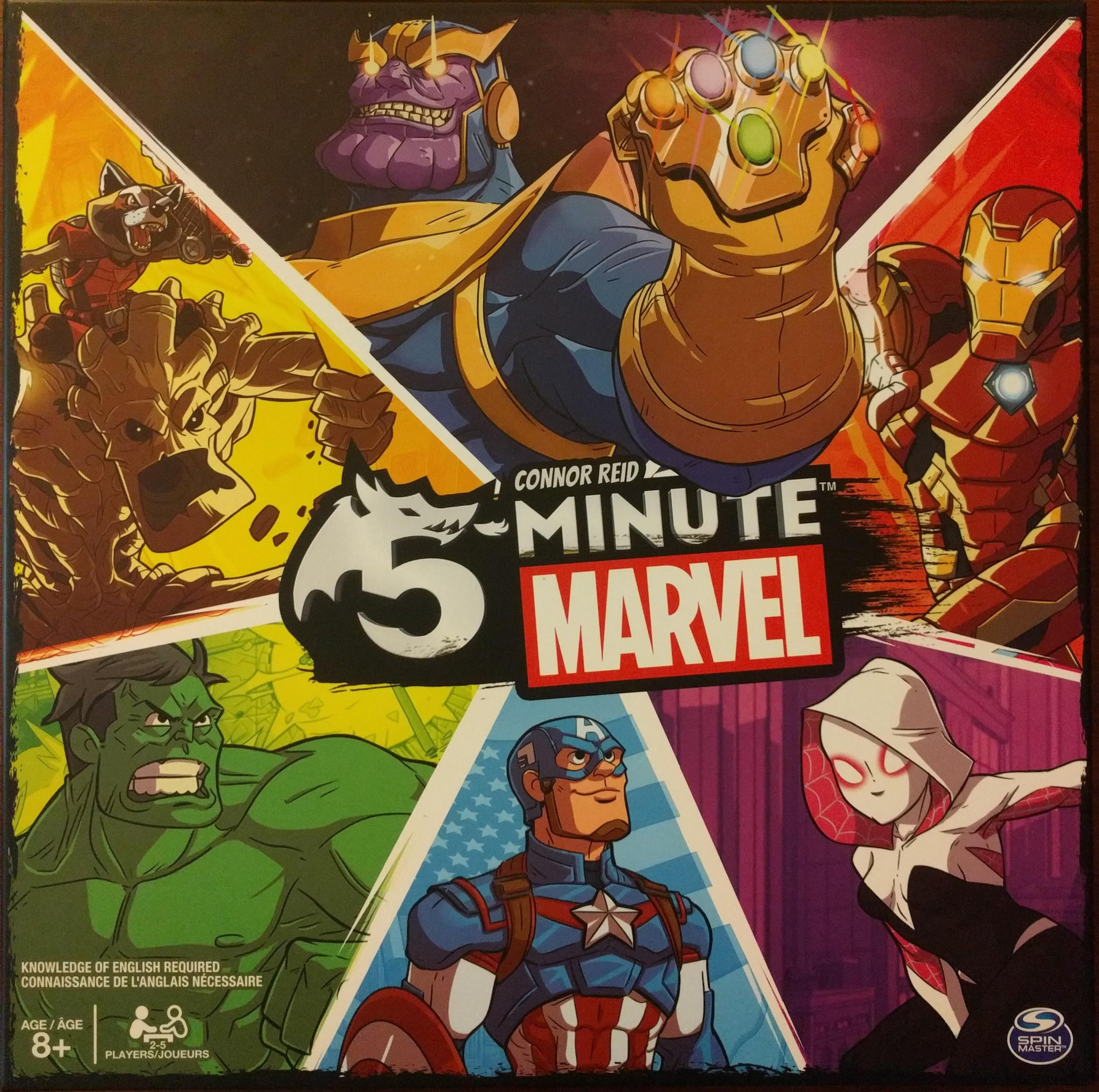 Main image for 5-Minute Marvel board game