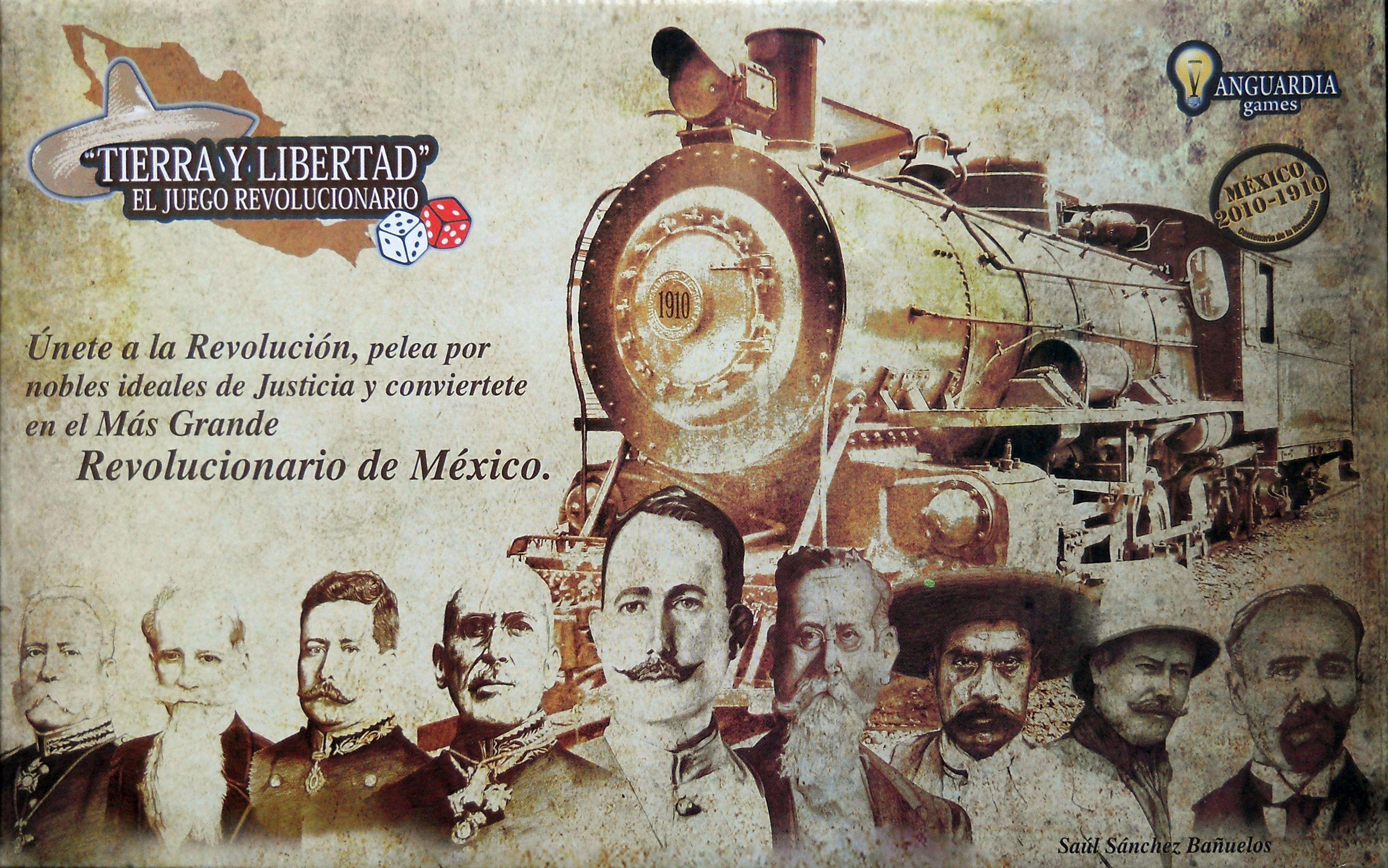 Tierra y Libertad, el juego revolucionario
