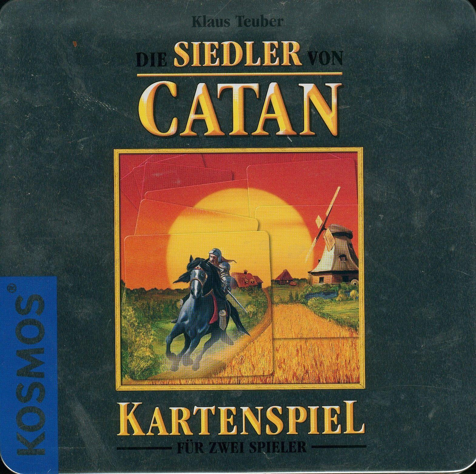 Die Siedler von Catan: Das Kartenspiel – 10th Anniversary Special Edition Tin Box