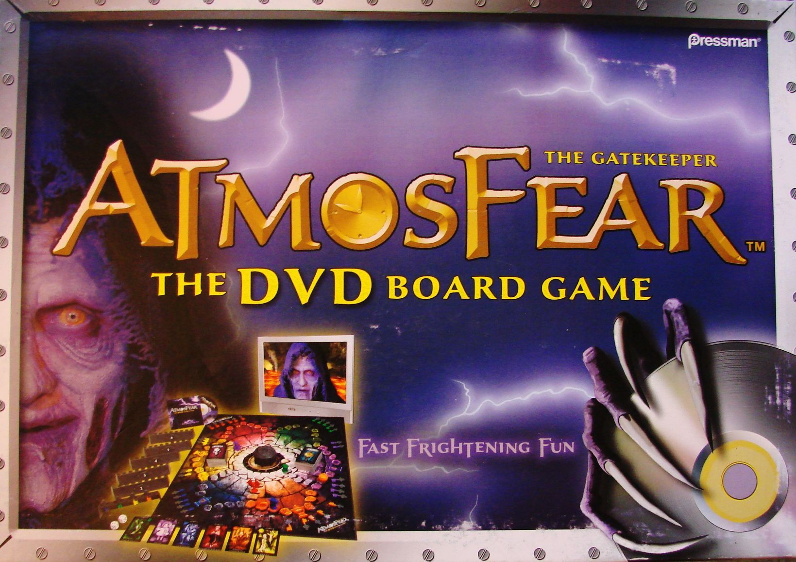Atmosfear: The DVD Board Game