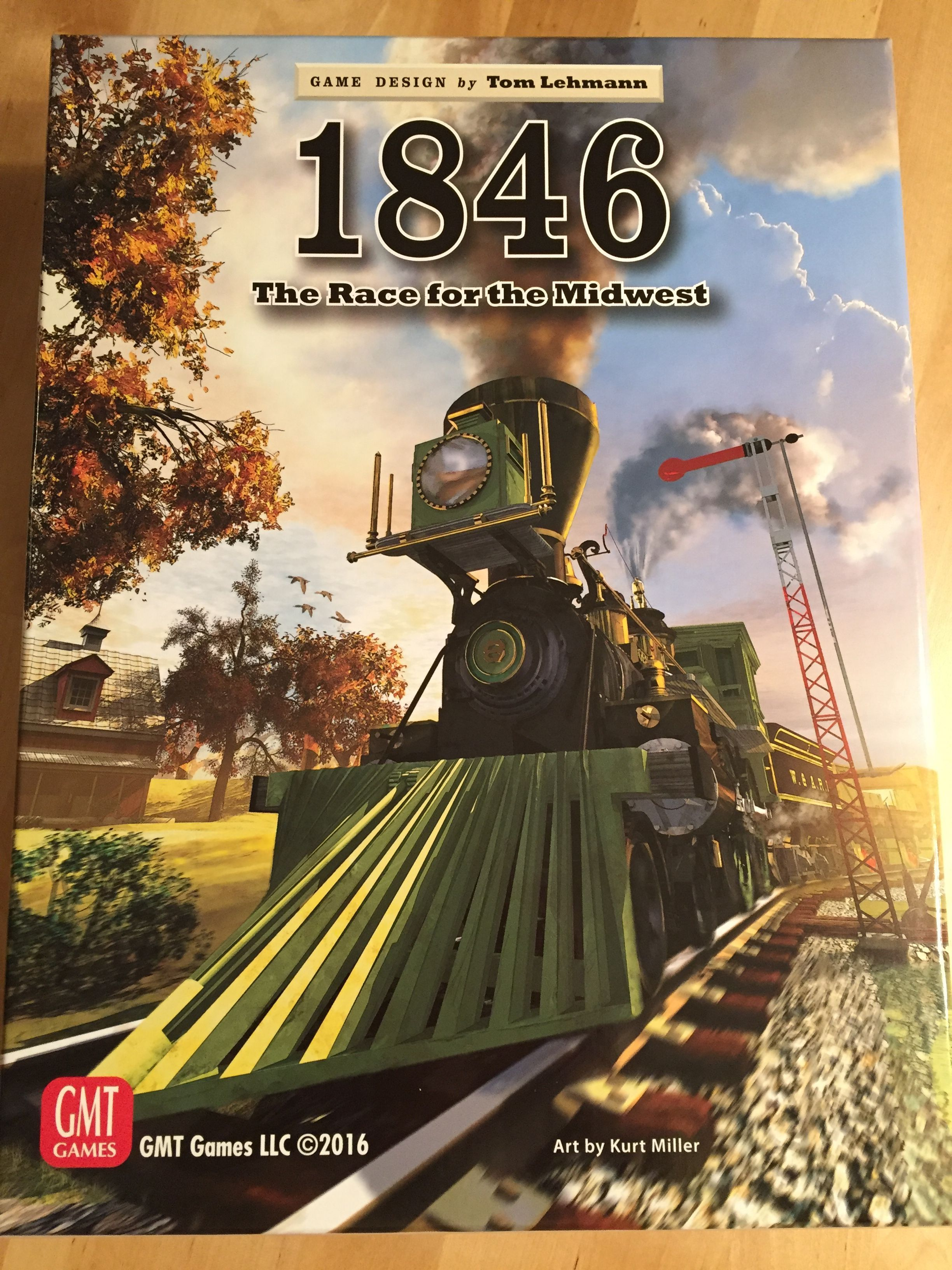 Main image for 1846: The Race for the Midwest board game