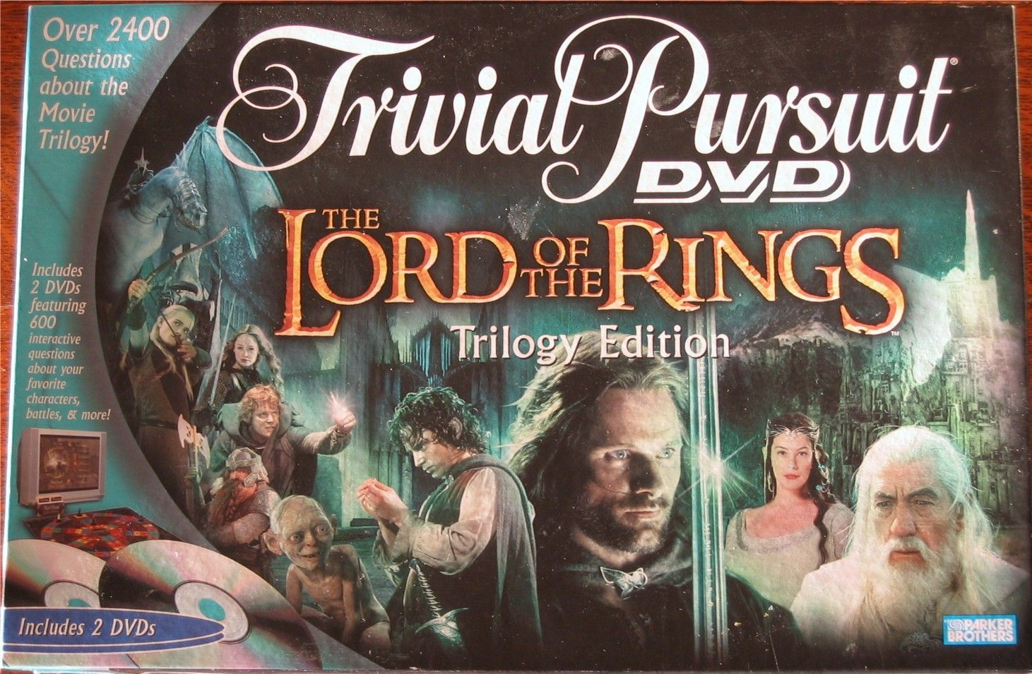 Trivial Pursuit: DVD – The Lord Of The Rings Trilogy Edition