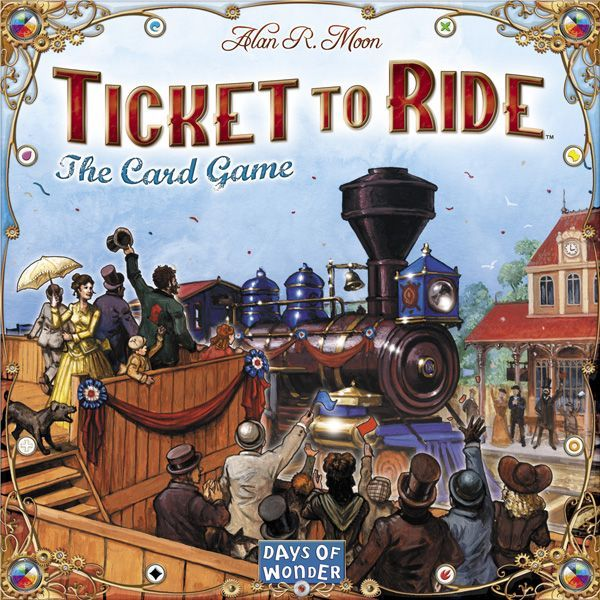 Main image for Ticket to Ride: The Card Game