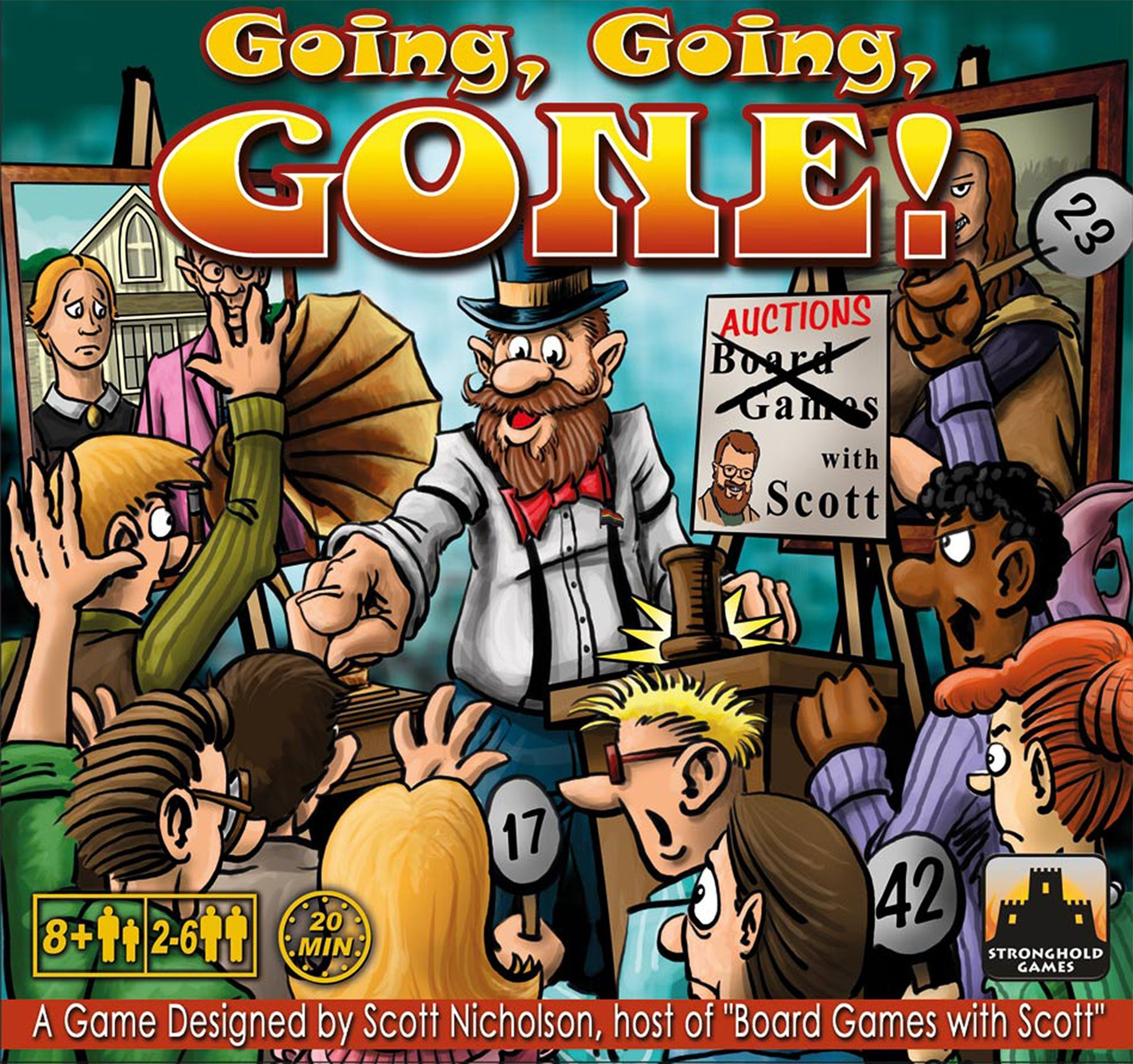 Going, Going, GONE! Cover