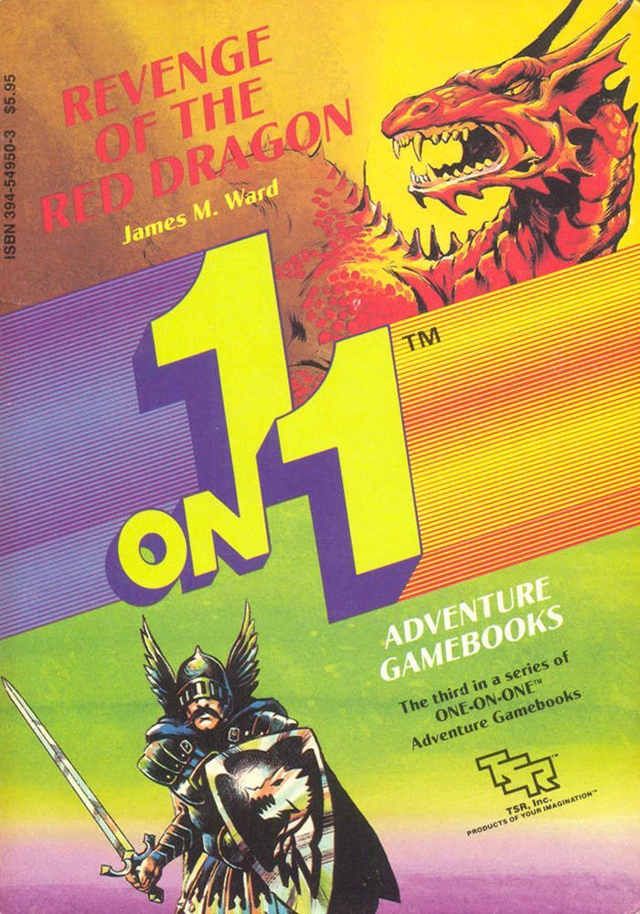 1 on 1 Adventure Gamebooks: Revenge of the Red Dragon