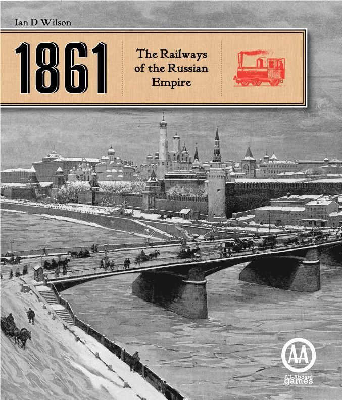 Main image for 1861: The Railways of the Russian Empire board game