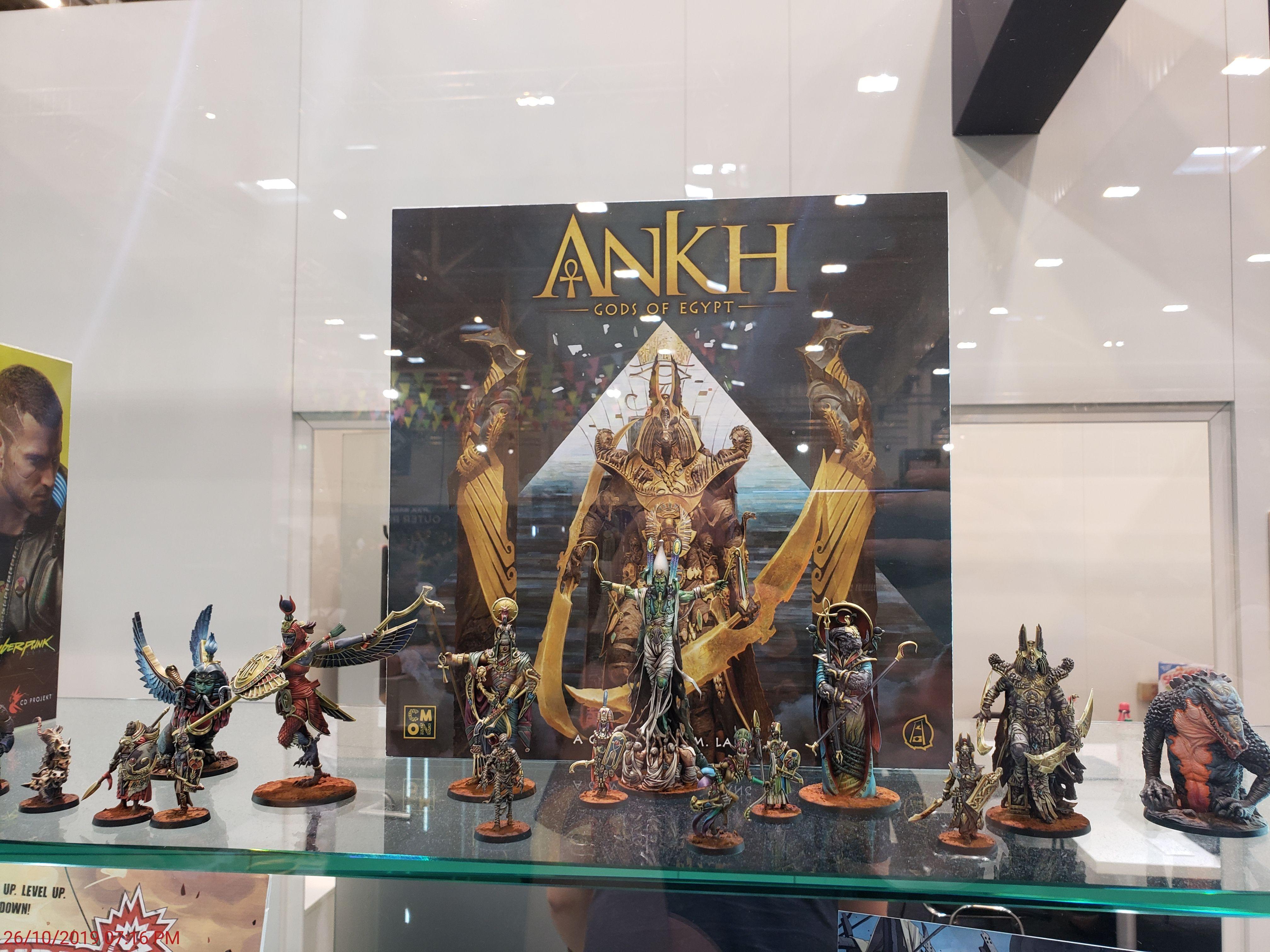 Ankh Dioses de Egipto - Caja y figuras