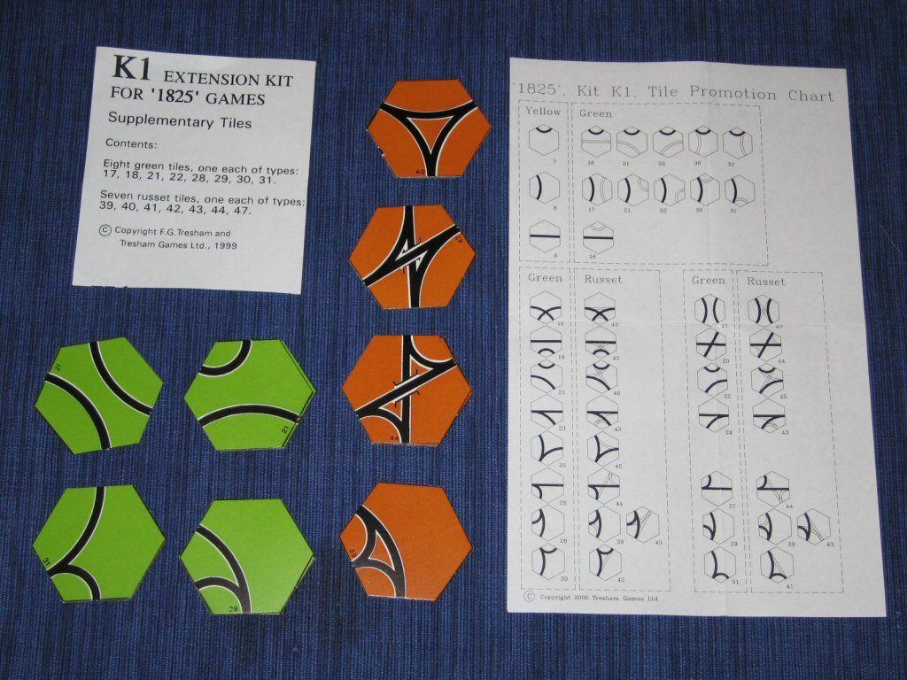 1825 Extension Kit K1: Supplementary Tiles