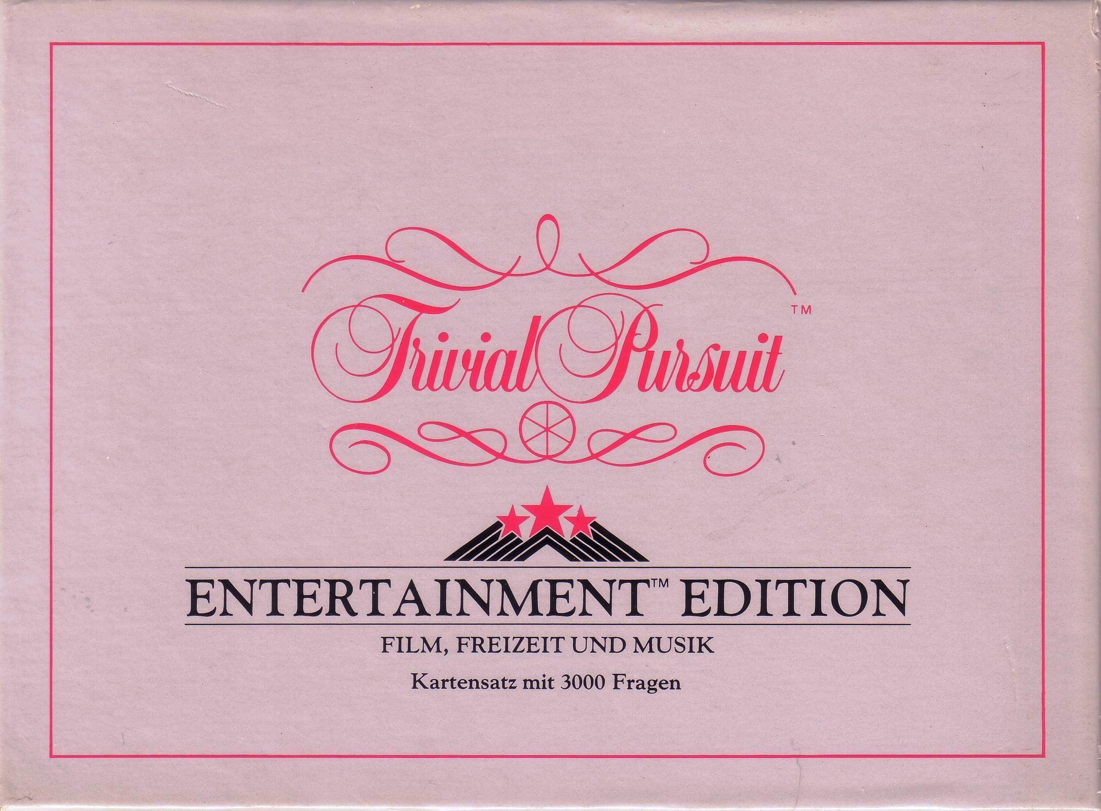 Trivial Pursuit: Entertainment Edition