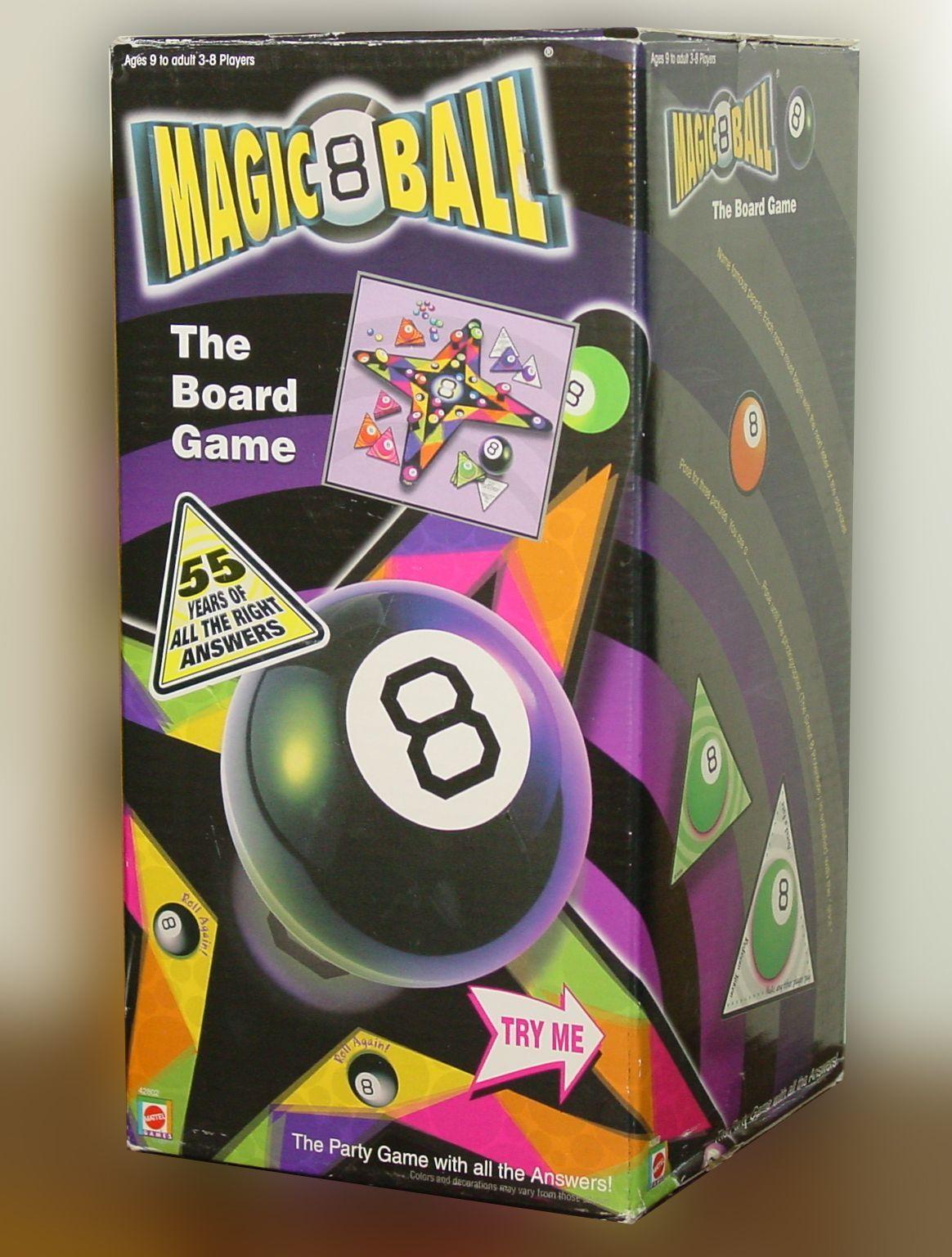 Magic 8 Ball: The Board Game