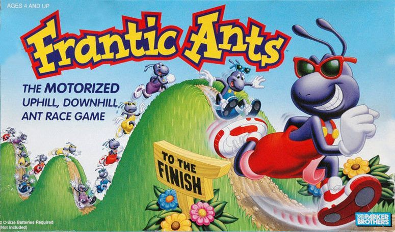 Frantic Ants