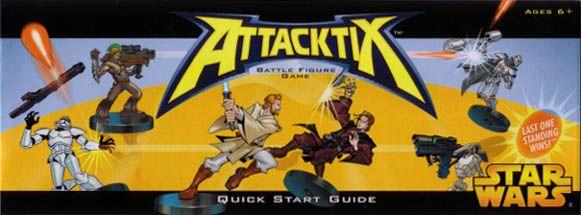 Attacktix Battle Figure Game: Star Wars