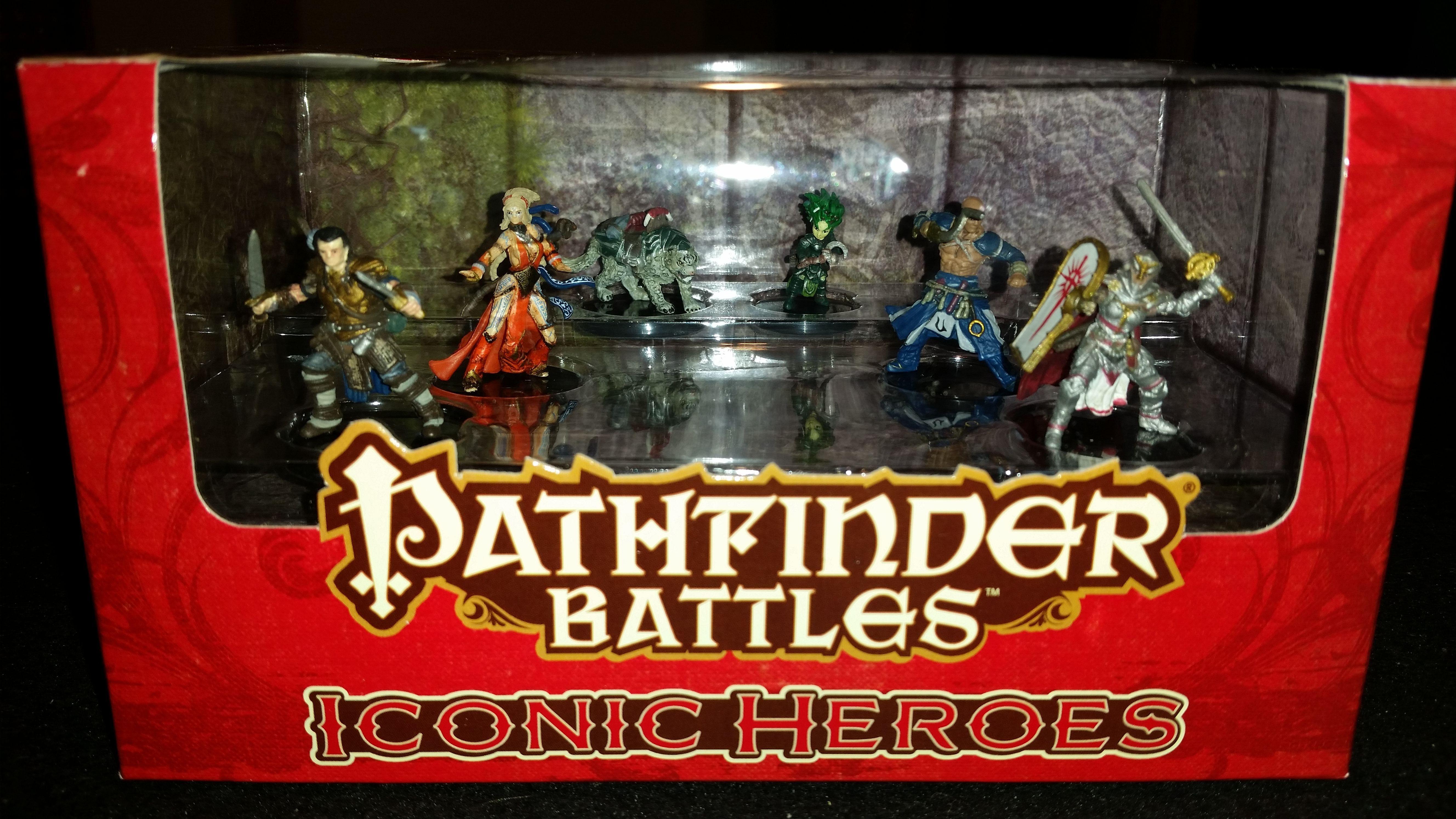 Pathfinder Battles: Iconic Heroes Set 1