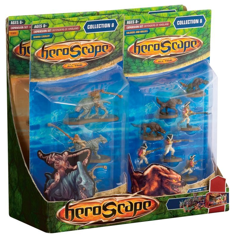 Heroscape Expansion Set: Defenders of Kinsland