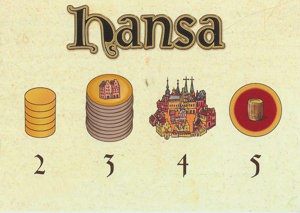 Hansa Extrakarte