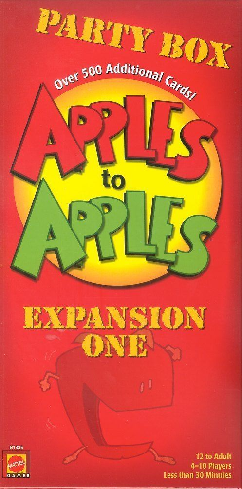 Apples to Apples Party Box Expansion ONE