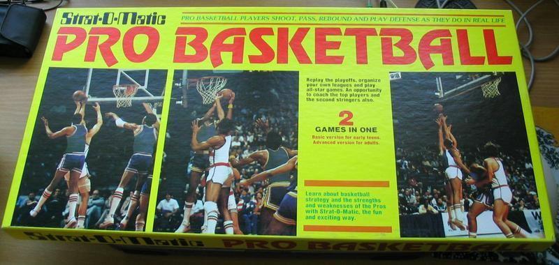 Strat-O-Matic Pro Basketball