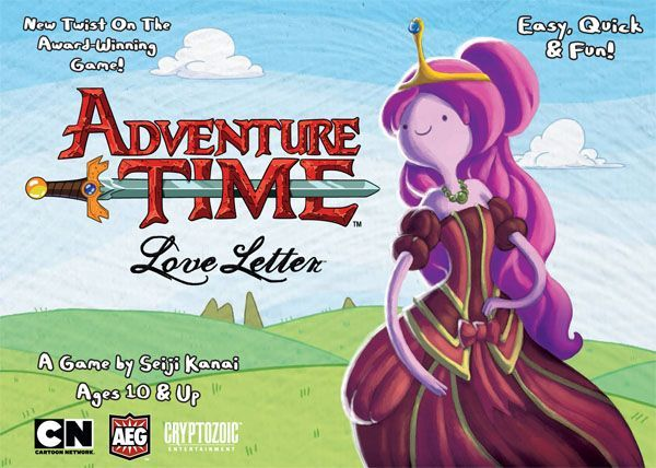 Main image for Adventure Time Love Letter board game