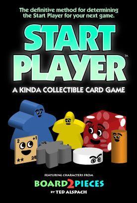 Start Player: A Kinda Collectible Card Game