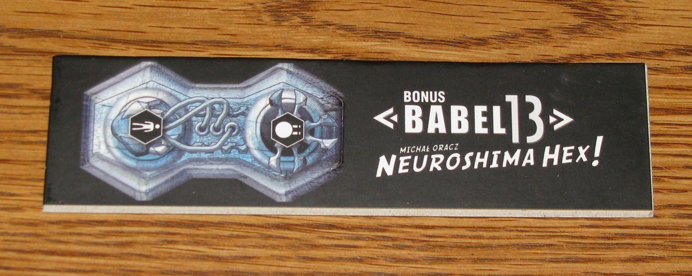 """Neuroshima Hex! Babel13 Artillery Outpost """"THUNDER"""""""