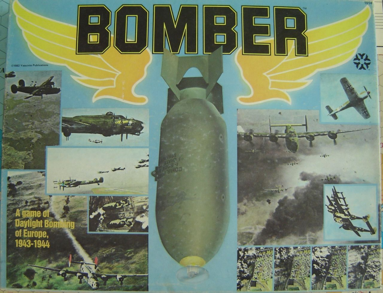 Bomber: A Game of Daylight Bombing of Europe, 1943-1944
