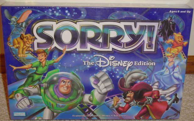 Sorry! The Disney Edition