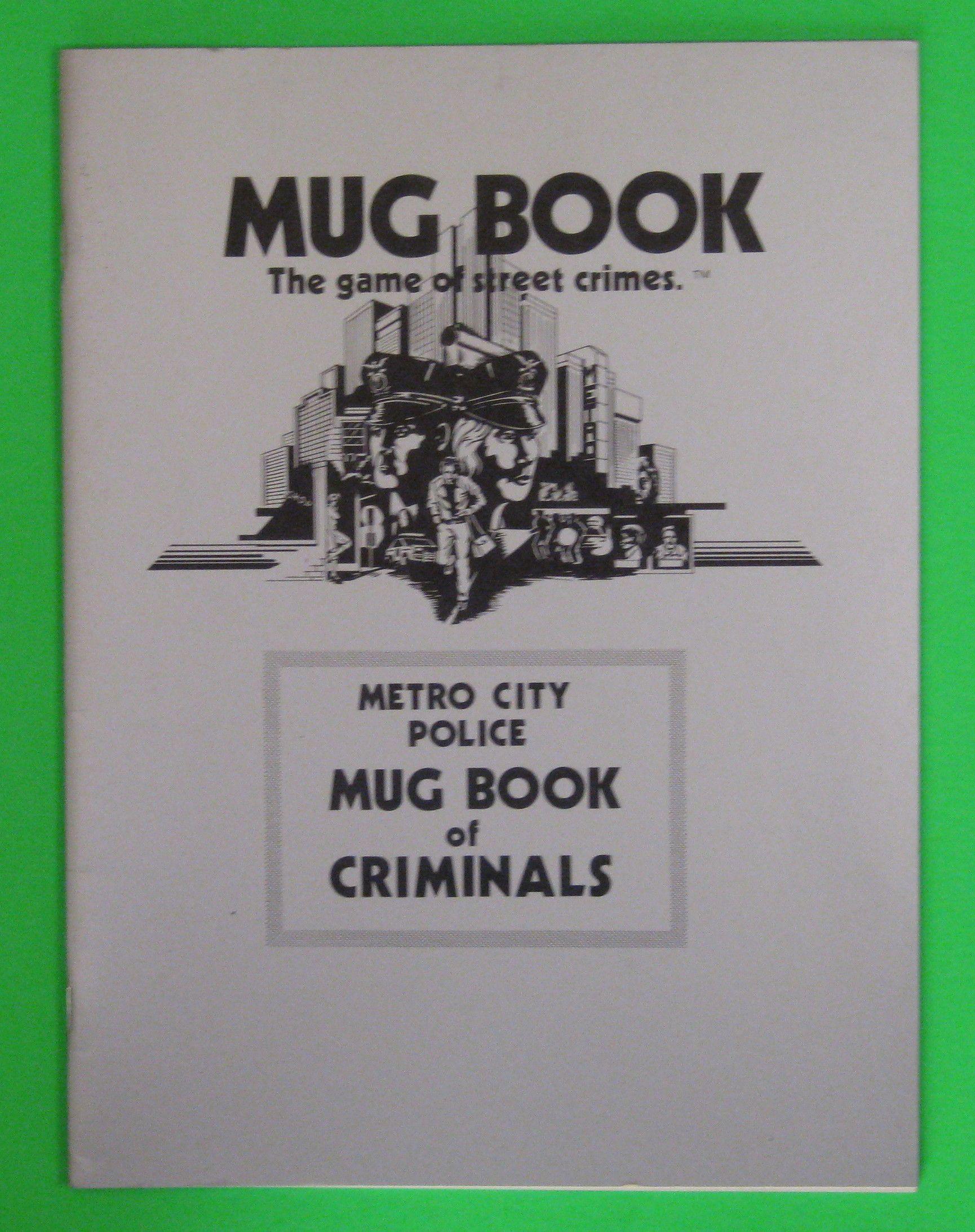 Mug Book: The Game of Street Crimes