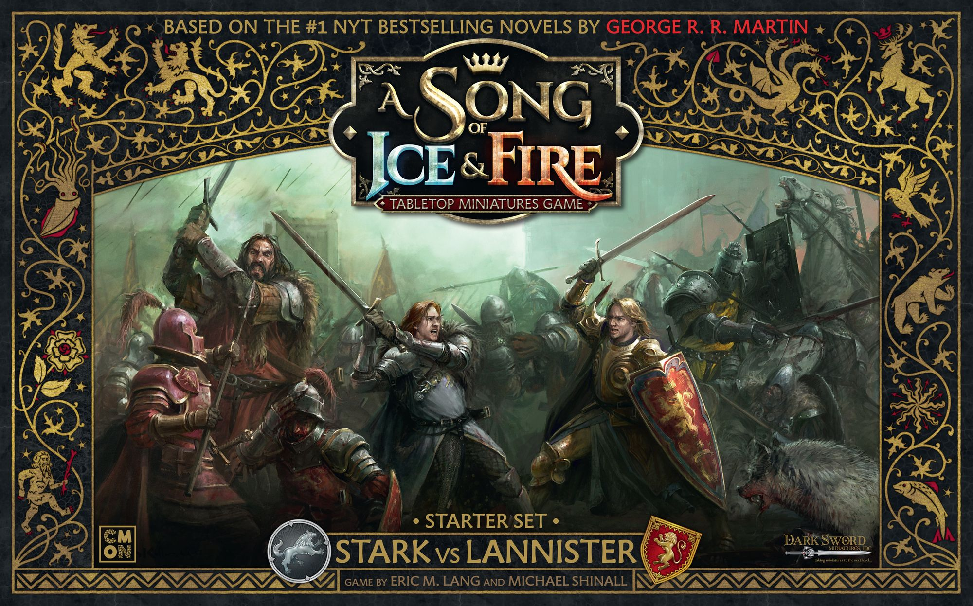 Main image for A Song of Ice & Fire: Tabletop Miniatures Game – Stark vs Lannister Starter Set board game