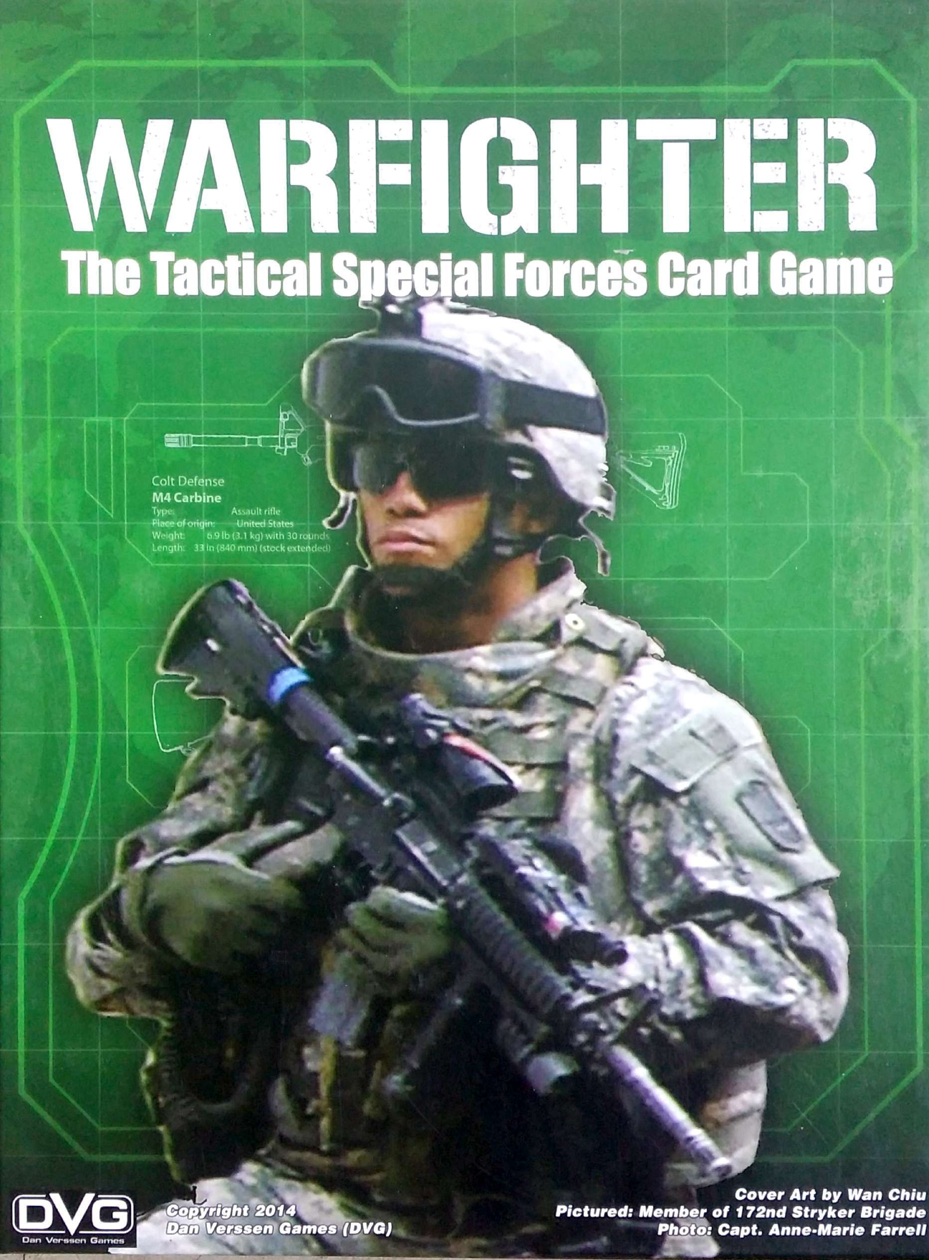 Main image for Warfighter: The Tactical Special Forces Card Game