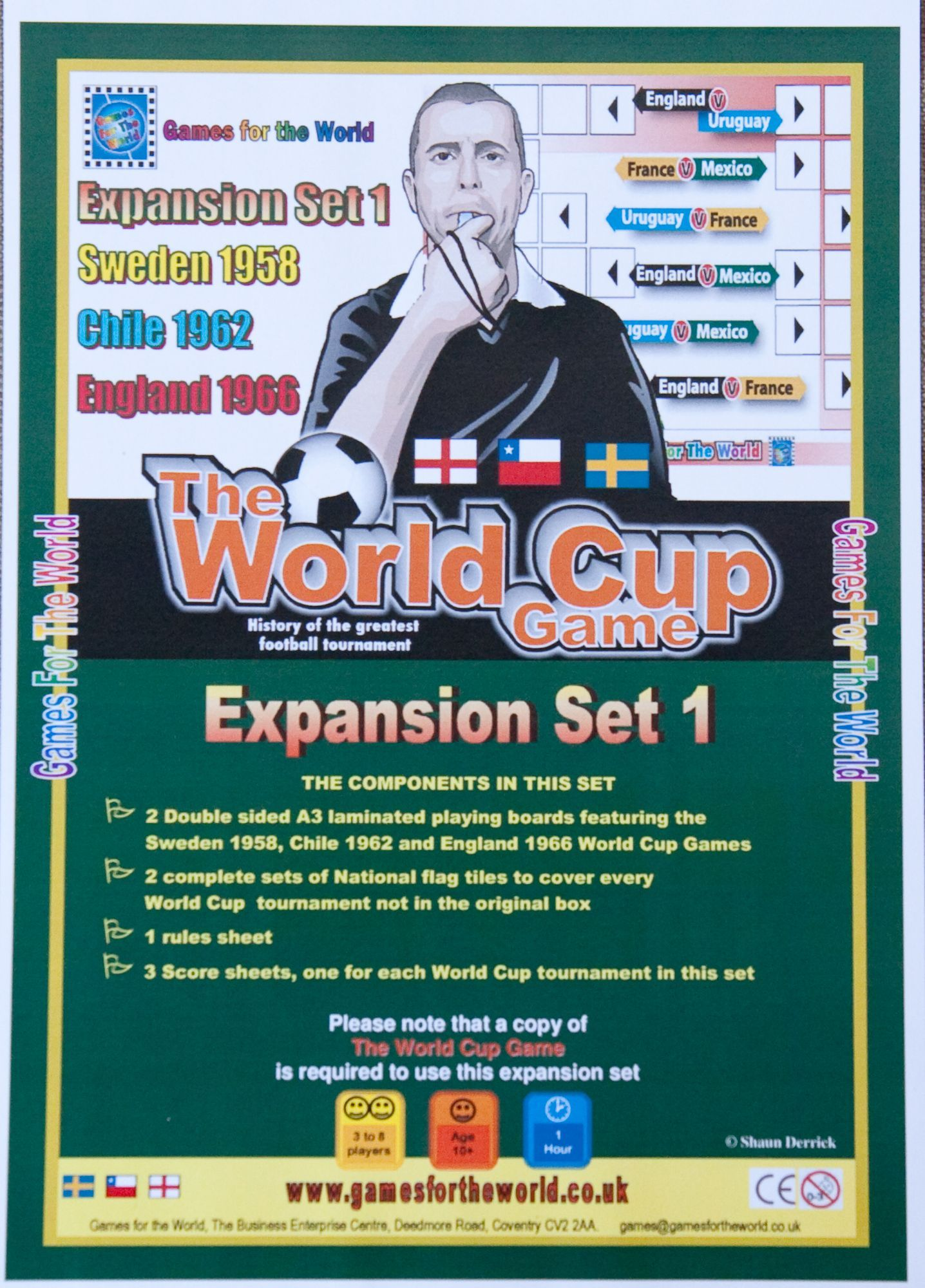 The World Cup Game:  Expansion Set 1