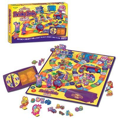 The Incredible Shrinky Dinks Game