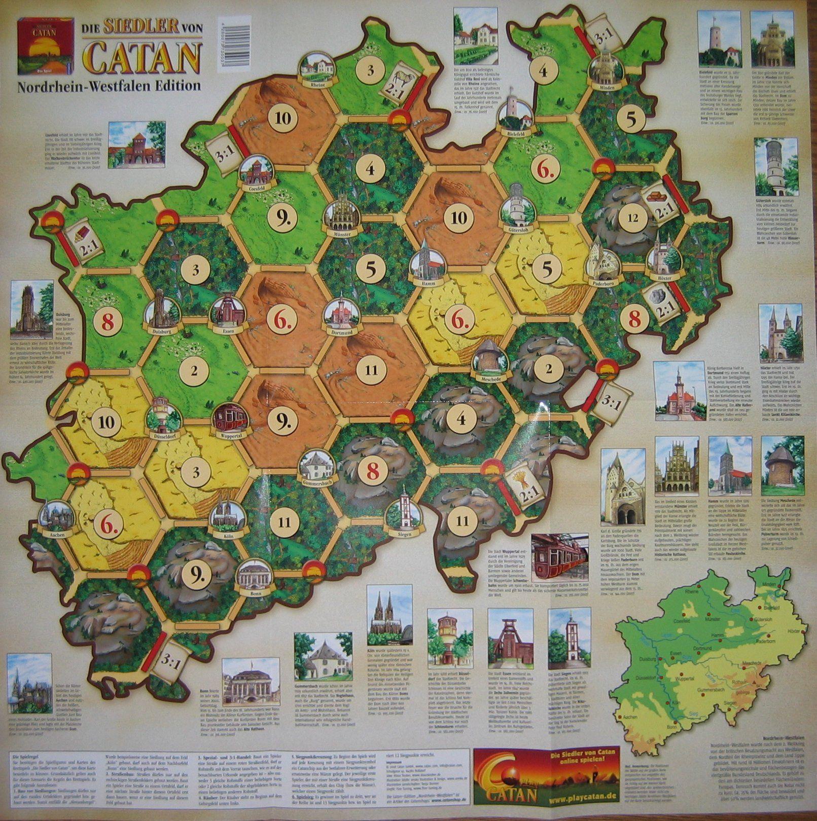 Catan Geographies: North Rhine – Westphalia