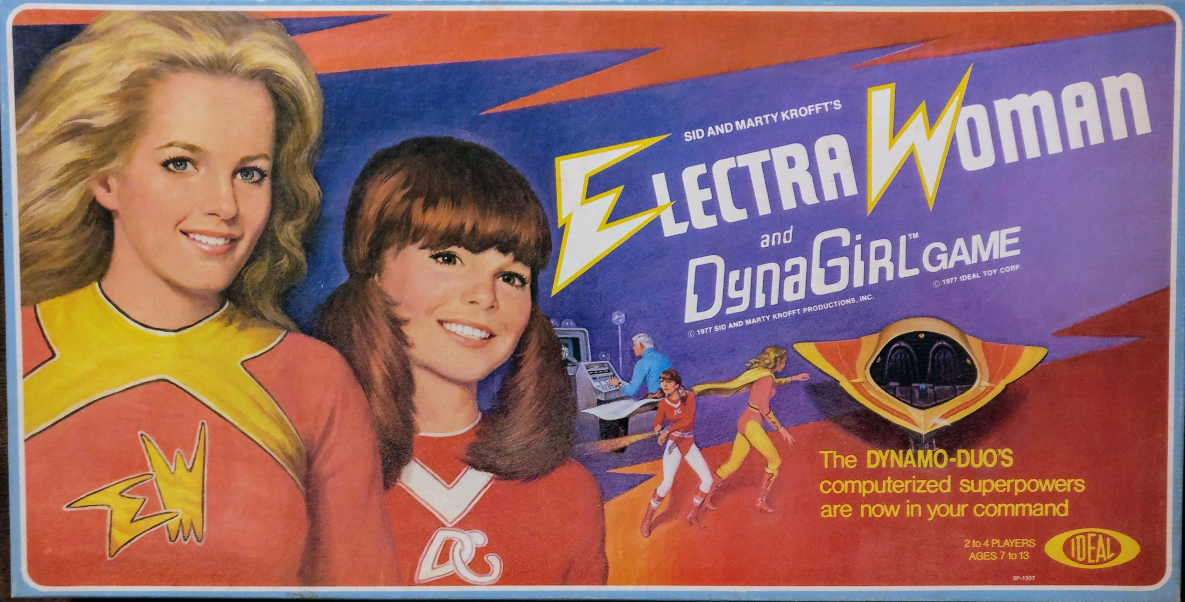 ElectraWoman and DynaGirl Game