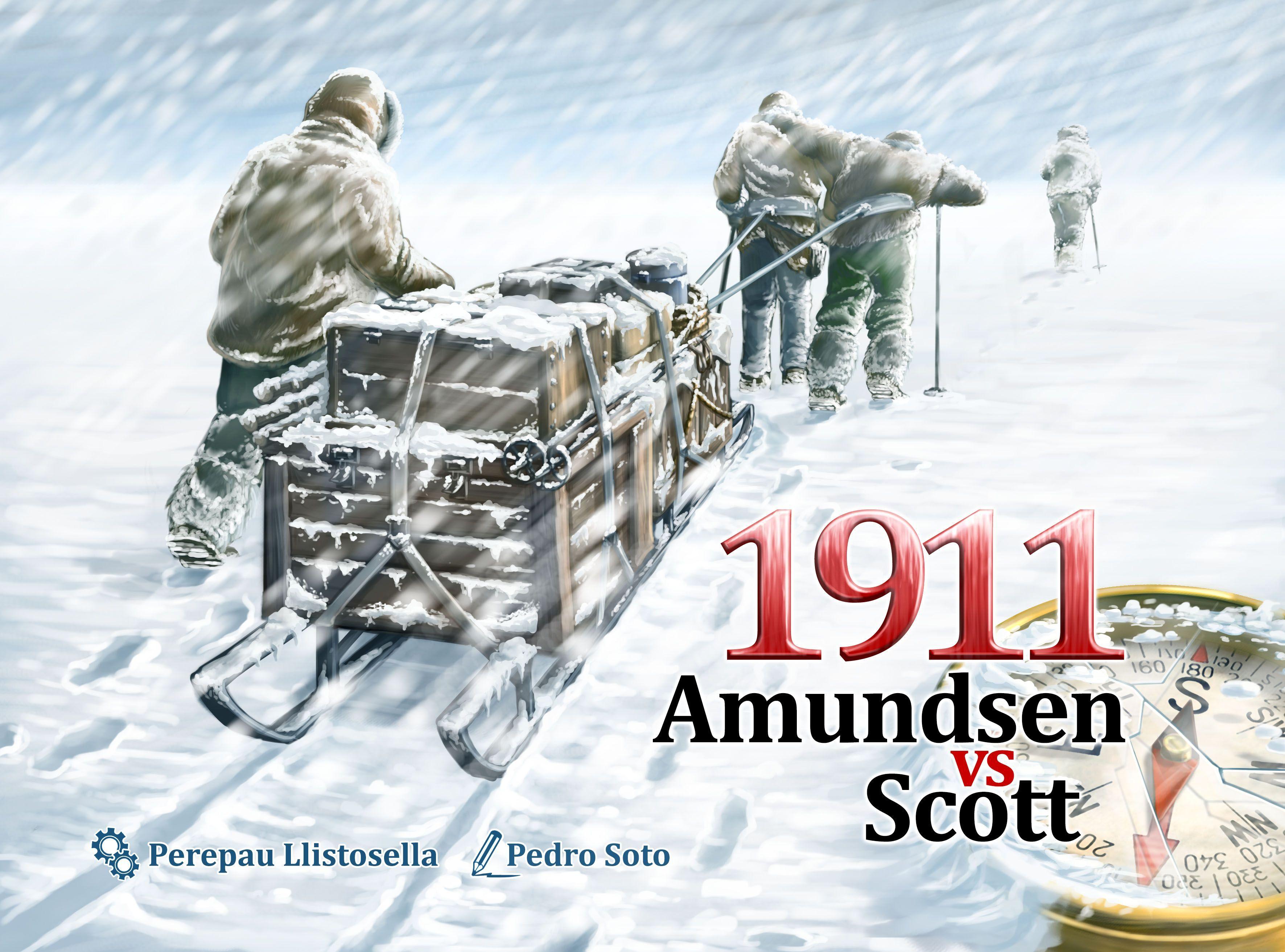 Main image for 1911 Amundsen vs Scott board game